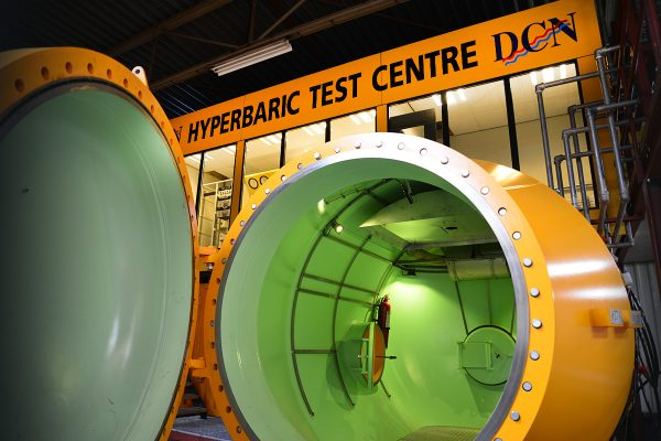 Hyperbaric test center
