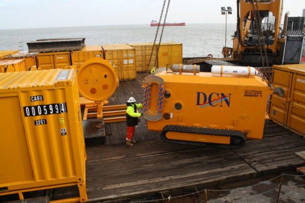 Pipeline rehabilitation GDF Suez Wilhelmshaven, Germany